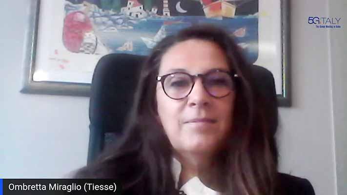 Intervista ad Ombretta Miraglio, responsabile Marketing di Tiesse S.p.A., in occasione del 3° 5G Italy global meeting