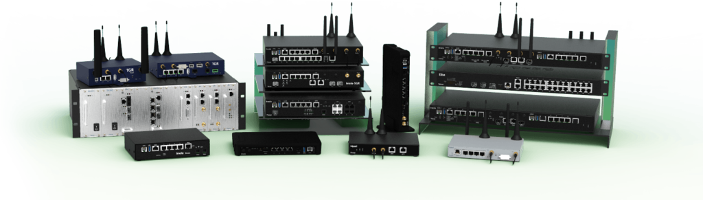 Prodotti di rete by Tiesse S.p.A.: router e dispositivi IoT