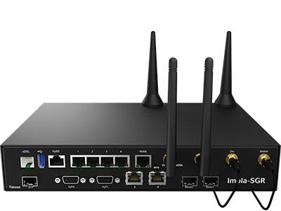 Vista frontale del router Imola 5272-SGR-IKR