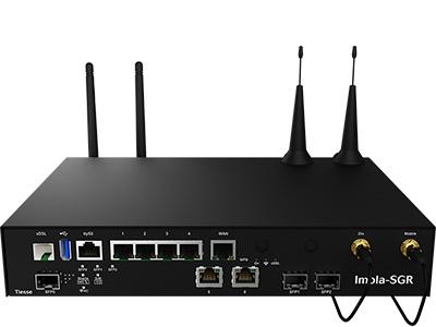 Vista frontale del router Imola 5272-SGR