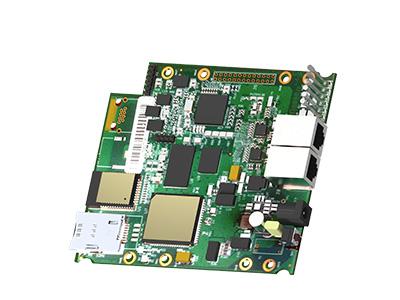 """Vista del Router kIoTo 532-N - dispositivo IoT/M2M - versione """"naked"""""""