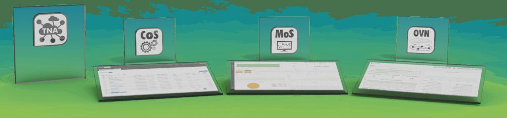 Software per la gestione delle reti by Tiesse: TNA suite con i moduli CoS, MoS e OVN
