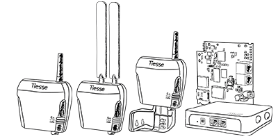 Dispositivi IoT/M2M di Tiesse S.p.A. - Router industrali 4G